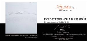 Exposition de l'artiste plasticienne Meli