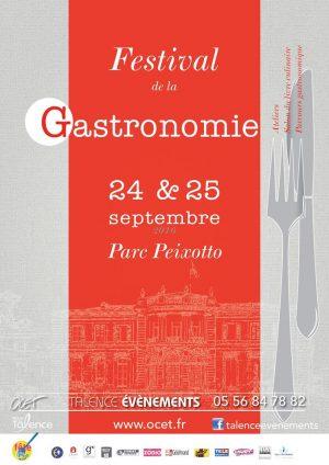 Festival de la Gastronomie de Talence le 24 et 25 septembre