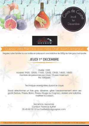 Cuisinez votre Foie Gras avec notre Chef Julien Lachenaud