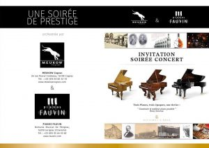 "Soirée Concert ""Assemblage"" Steinway & Sons"